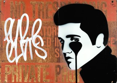 work by Pure Evil - Rusty gold - Pure Elvis