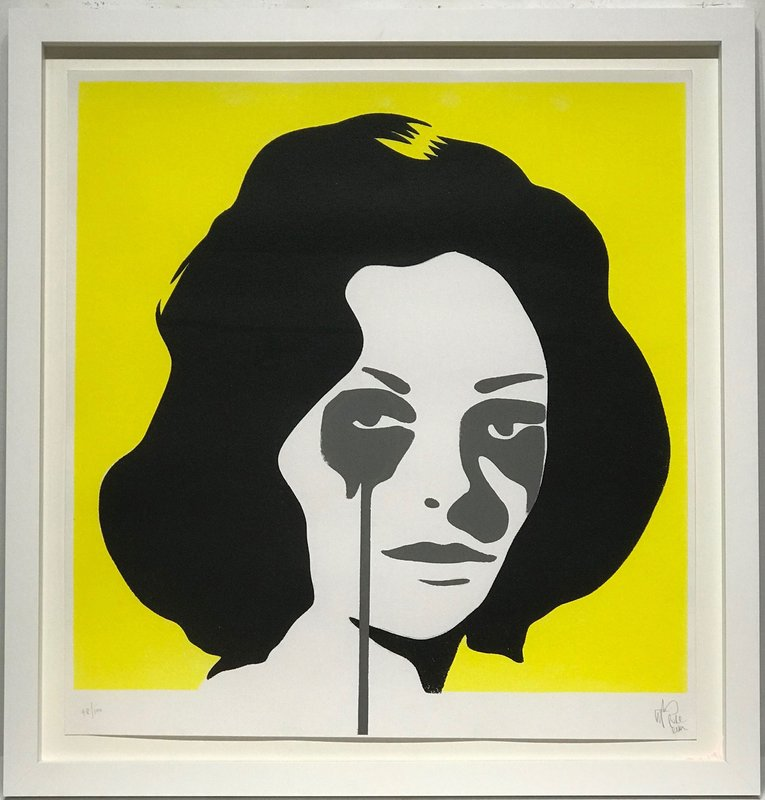 Richard Burton's Nightmare (Yellow) art for sale