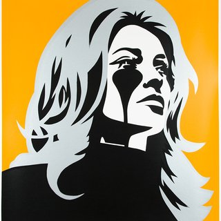 Roman Polanski's Nightmare - Sharon Tate - Chrome Angel art for sale