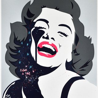 Screaming Marilyn - Cosmic vibes art for sale