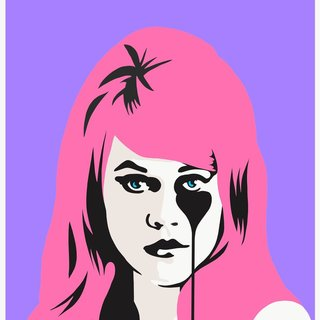 Jane Fonda's Nightmare - Bubblegum pink art for sale