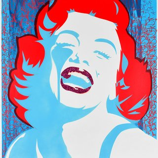 Screaming Marilyn - Sometimes even queens loose their heads art for sale