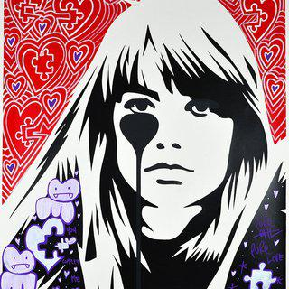 JACQUES DUTRONC'S NIGHTMARE - FRANÇOISE HARDY: YOU COMPLETE ME art for sale