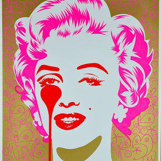 MARILYN CLASSIC - FEELING A BIT CURLY art for sale