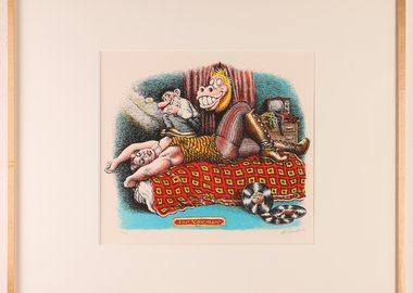 R. Crumb - Nightmare