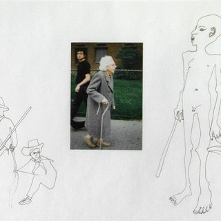 Untitled (Jonathan, Clario and an Old Lady) art for sale