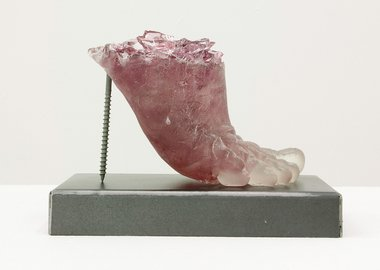work by Rachel Owens - Footwear (Pink Heel)