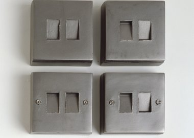 work by Rachel Whiteread - Untitled (On, Off)