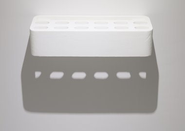 work by Rachel Whiteread - Polyshelf