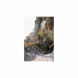 Llansteffan Stairway art for sale
