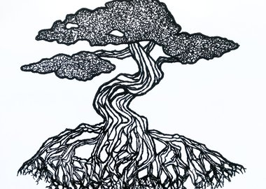 work by Rachelle Gardner-Roe - Bonsai No 2