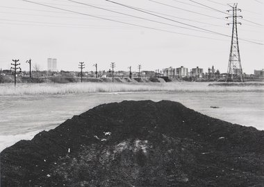 work by Ray Mortenson - Hudson Generating Station, Jersey City #2