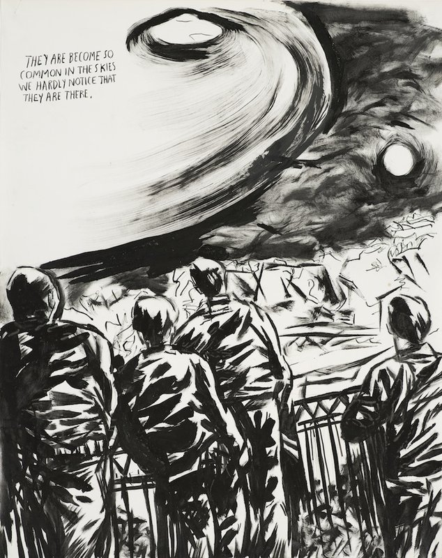 main work - Raymond Pettibon, No Title (They Are Become)