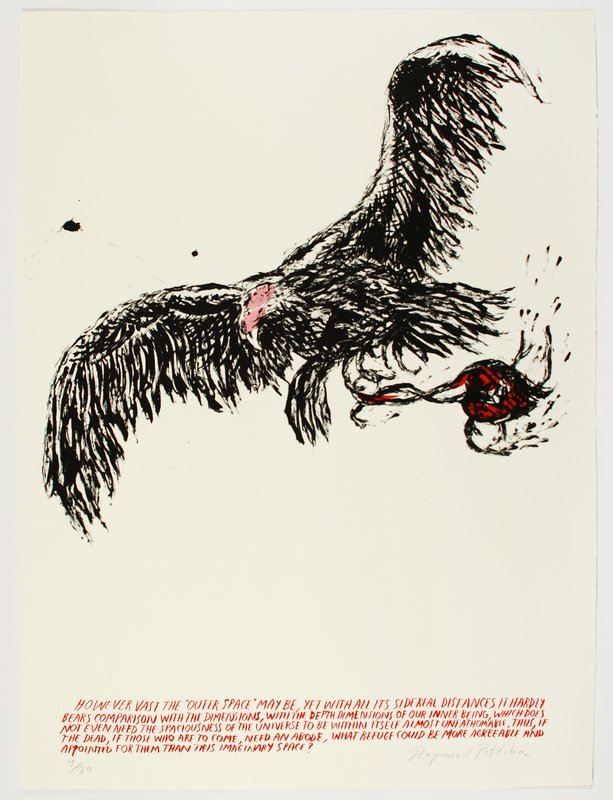 Raymond Pettibon, Untitled (However Vast...)