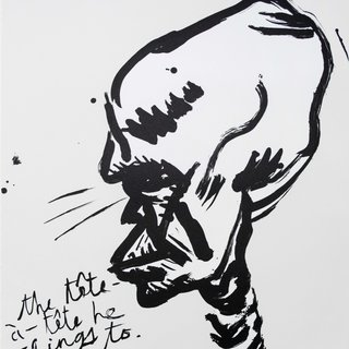 Raymond Pettibon, Untitled (The Tête a Tête...)
