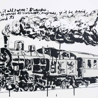 Untitled (Train) art for sale