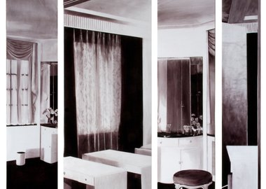 work by Rebecca Chamberlain - Roux-Spitz & Adler, Vanity Screen, 1927-29
