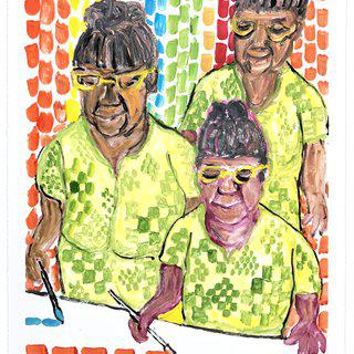 Untitled (Alma Thomas) I art for sale