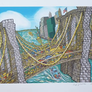 Brooklyn Bridge art for sale