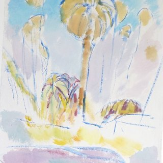 LA Palm Tree art for sale