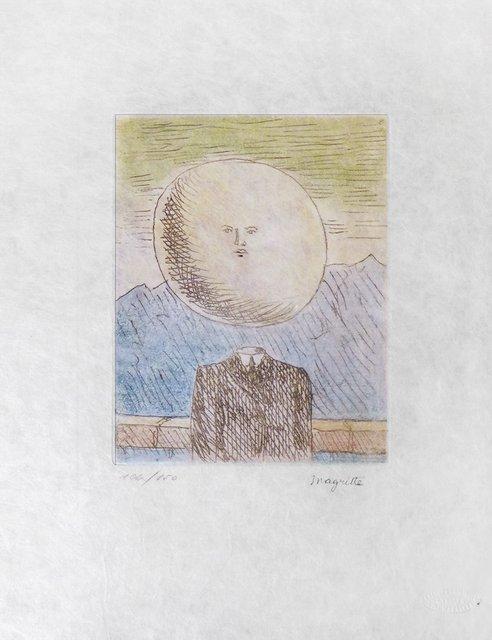 MUSEUM ART PRINT La belle saison Rene Magritte