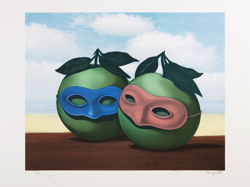 by rene_magritte - La valse hesitation, 1950