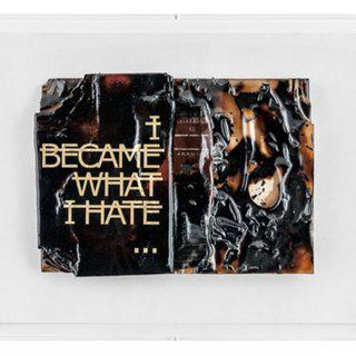Sans titre (I BECAME WHAT I HATE...) art for sale