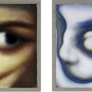 Self Portrait / Diptych, London art for sale