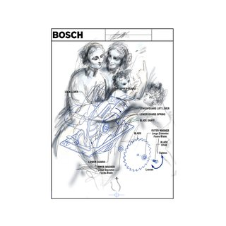 BOSCH 2 - Power Tool Series (After Da Vinci - The Virgin and Child) art for sale