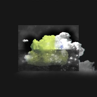 Clouds 2 / Yellow in 3D art for sale
