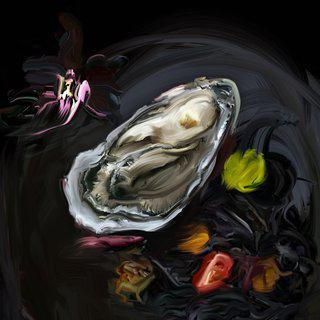 Oyster (The Hunger series) art for sale