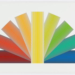 Grey Tinted Rainbow art for sale
