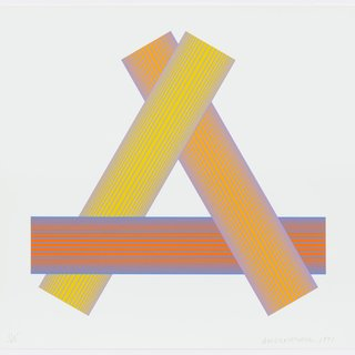 Richard Anuszkiewicz, Triangular Yellows