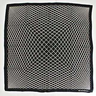 Op Art Silk Scarf for the Smithsonian, 1970-75 art for sale