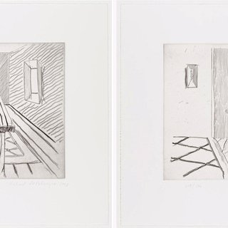 Richard Artschwager, Untitled (from: Notes on a room)