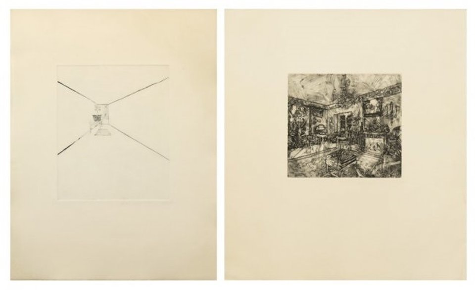Richard Artschwager, Interior I; and Interior III