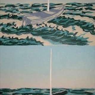 Awash (Diptych) art for sale