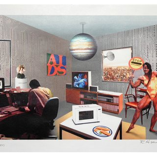 Richard Hamilton, Just what is it that makes today's home so different?