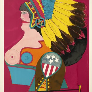 Miss American Indian art for sale