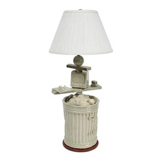 Garbage Can Lamp art for sale
