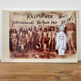 KALIFLOWER: INTERCOMMUNAL NO-SOCK HOP art for sale