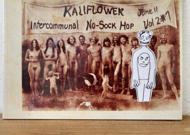 work by Richard Prince - KALIFLOWER: INTERCOMMUNAL NO-SOCK HOP