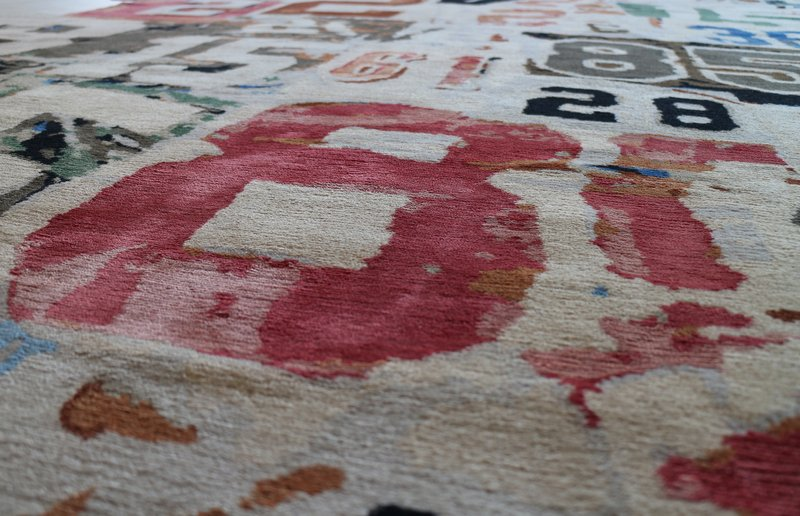 view:1609 - Richard Prince, 1-234-567-8910 rug -