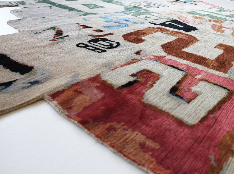 view:1611 - Richard Prince, 1-234-567-8910 rug -