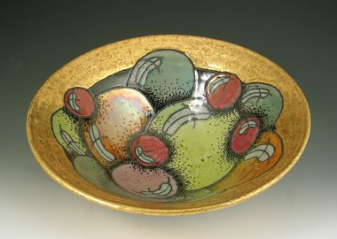 work by Rimas VisGirda - Bowl with Balls