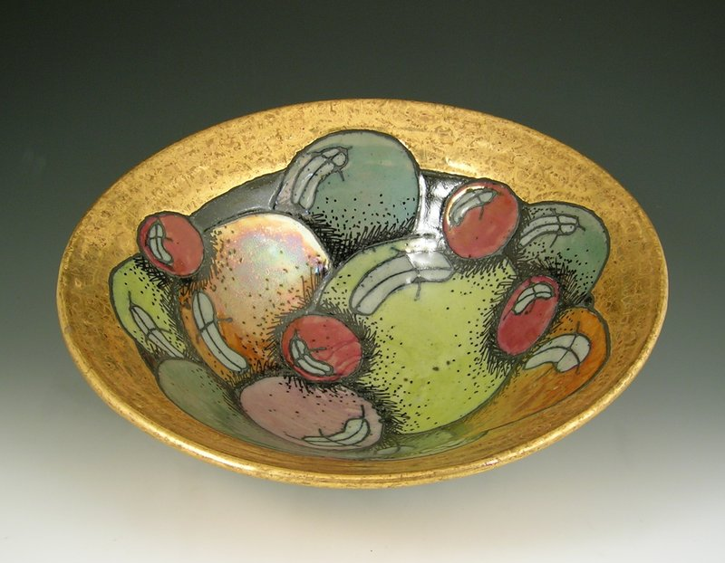 main work - Rimas VisGirda, Bowl with Balls
