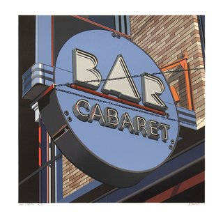 Bar Cabaret art for sale