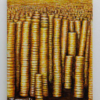 Millions of Gold Coins art for sale