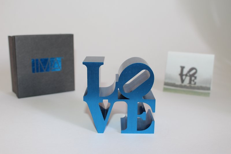 Robert Indiana, LOVE (IMA) - LOVE (Blue)