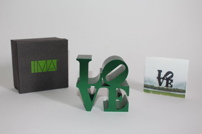 Robert Indiana, LOVE (IMA) - LOVE (Green)